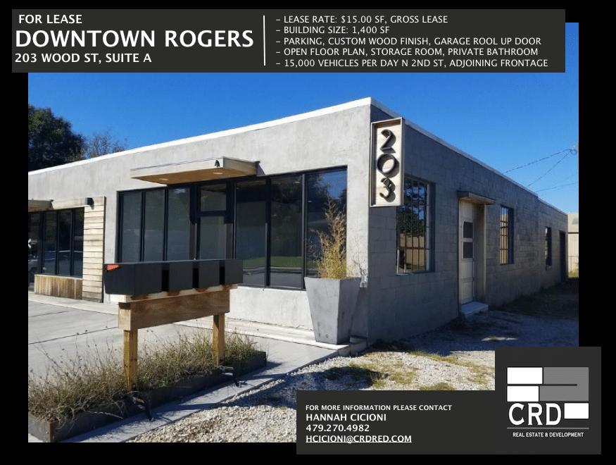 203 W. Wood Street Rogers, AR